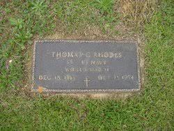 """Thomas Clifton """"Clifton"""" Rhodes (1915-1994) - Find A Grave Memorial"""