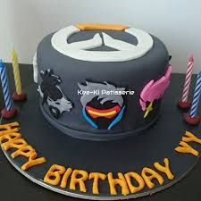 Customised Mini Cake Overwatch Food Drinks Baked Goods On