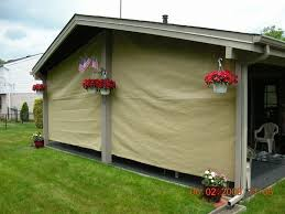 outdoor privacy shades. Patio Screen Closed Outdoor Privacy Shades