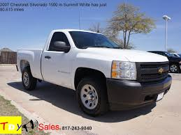 Truck chevy 2007 truck : For Sale 2007 Chevrolet Silverado 1500 in Summit White has just ...