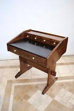 vintage ethan allen american traditional tavern pine 4 drawer trestle desk bennington ethan allen desk