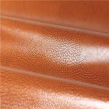 popular upholstery pu leather fabric made in china