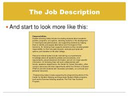 cover letter description prepare a cover letter using a job description