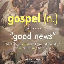 ~Good News = God Spells~