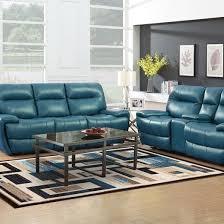 teal living room furniture. Bailey Teal Reclining Sofa \u0026 Console Loveseat Teal Living Room Furniture 4