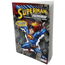 On of the first and most memorable comic book characters was our very own superman. Wholesale Jumbo Superman Coloring Book Sku 2322698 Dollardays