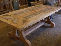 Round Rustic Kitchen Table Kitchen Table Distressed Wood Dining Table Epic Dining Room