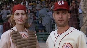 a league of their own a real life former player on what the got right abc news