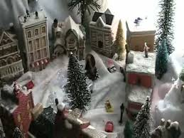 Christmas Tree Village Display Stands How to Make a Christmas Village YouTube 68