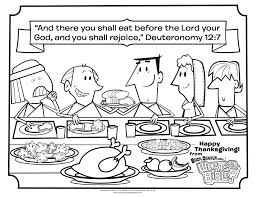 Thanksgiving Coloring Page - Whats in the Bible