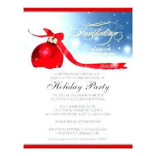 Holiday Dinner Party Invitation Wording Company Holiday Party