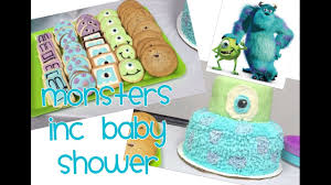 Monster Inc Baby Shower Decorations Vlog Monsters Inc Baby Shower Youtube