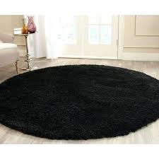 solid black area rugs gy black round area rug solid black round rug