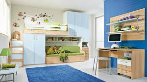 awesome white blue wood glass modern design amazing kids bedroom bunk bed desk chairs blue carpet awesome design kids bedroom