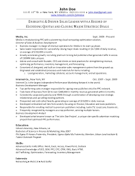 Ad Trafficker Resume Sample Best Of Online Sales Resume Sample