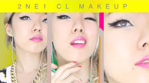 2ne1 cl makeup tutorial gotta be you kpop inspired nyx face awards 2016 top 20 you