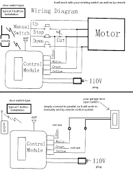 genie garage door opener wiring diagram and co sensor bypass safety how to on