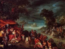 the flood with noah s ark