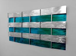 wall art decor teal