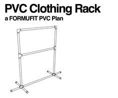 Pvc Pipe Coat Rack Great PDF Free Plans For A Laundry Room Clothing Rack Made From 6