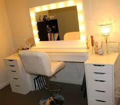 Bedroom Vanity With Lights Bulbs Around Light Bulbs For Makeup ...