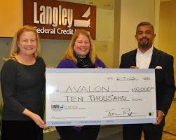 Langley Federal Credit Union Donates to Avalon Women's Shelter |  Williamsburg Yorktown Daily