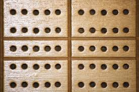 Game With Rocks And Wooden Board Wooden Cribbage Board with Peg Holes Texture Picture Free 57