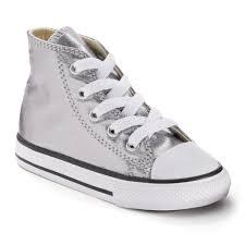 converse metallic. toddler converse chuck taylor all star metallic high-top sneakers