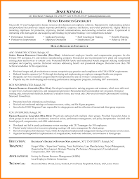 12 Human Resource Generalist Resume Write Memorandum