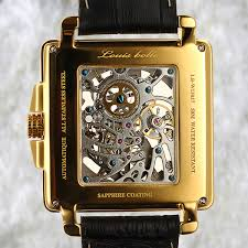 louis bolle clement mechanical skeleton mens watch atauction com louis bolle clement mechanical skeleton mens watch
