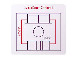 living room rug size best of what size rug should you use for your living room