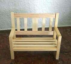 mini furniture sets. Make Miniature Furniture Dollhouse How To A Garden Bench This Tutorial Needs Mini Sets W