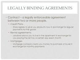 Student Agreement Contract LEGAL AGREEMENTS AND RECORD KEEPING. OBJECTIVES Students will list ...