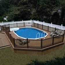 swimming pool decks. Pictures Of Above Ground Pools With Decks | Premier Aluminum Photo Gallery Swimming Pool A