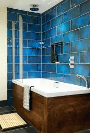 Moroccan Bathroom Vanity Best Blue Tiles Ideas On Give Your Walls The Wow  Factor With Intense And Glossy Finish Of Vanities