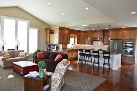 family room kitchen designs