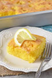 Deliciously Easy Lemon Cake Recipe Adventures Of Mel