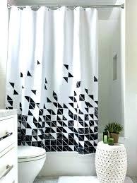 modern shower curtain ideas. Modren Shower Shower Curtains Ideas Modern Curtain Bathroom Amazing Black And  White Fabric  In Modern Shower Curtain Ideas L