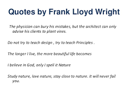 Frank Lloyd Wright Quotes New Ar Flwright 48