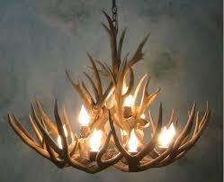 78 most supreme deer antler chandelier kit making magnificent lighting design image of brass mason jar