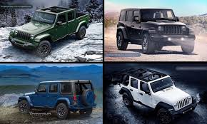 2018 jeep wrangler jl. exellent 2018 new jeep wrangler 2018 unlimited and pickup jt preview renderings with 2018 jeep wrangler jl