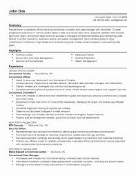 Security Officer Resume Sample Cool Property Security Officer Resume Sample Resume Cover Letter 50