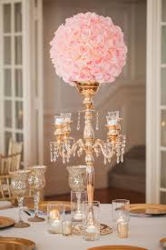 gold candelabra pink rose wedding reception centerpiece from candle chandelier centerpieces weddings source