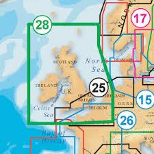 Marine Navigation Charts Uk Navionics Platinum 28p Chart Marine Uk Ireland