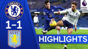 Chelsea 1-1 Aston Villa | Premier League Highlights - YouTube