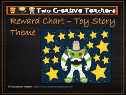 Teacher Reward Chart Reward Chart Sticker Chart Toy Story Theme