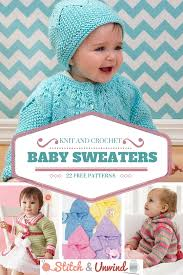 Free Crochet Baby Sweater Patterns Custom Knit And Crochet Baby Sweaters 48 Free Patterns Stitch And Unwind