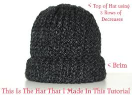 Loom Hat Patterns Inspiration How To Loom Knit A Chunky Beanie Hat Pt 48 YouTube