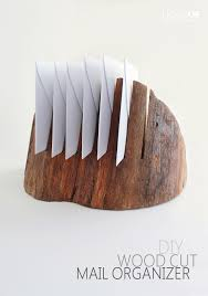 Chic And Simple Mail Organizers For The Diyer In Each Of Us