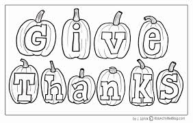 Being Thankful Coloring Pages Inspirational Free Printable